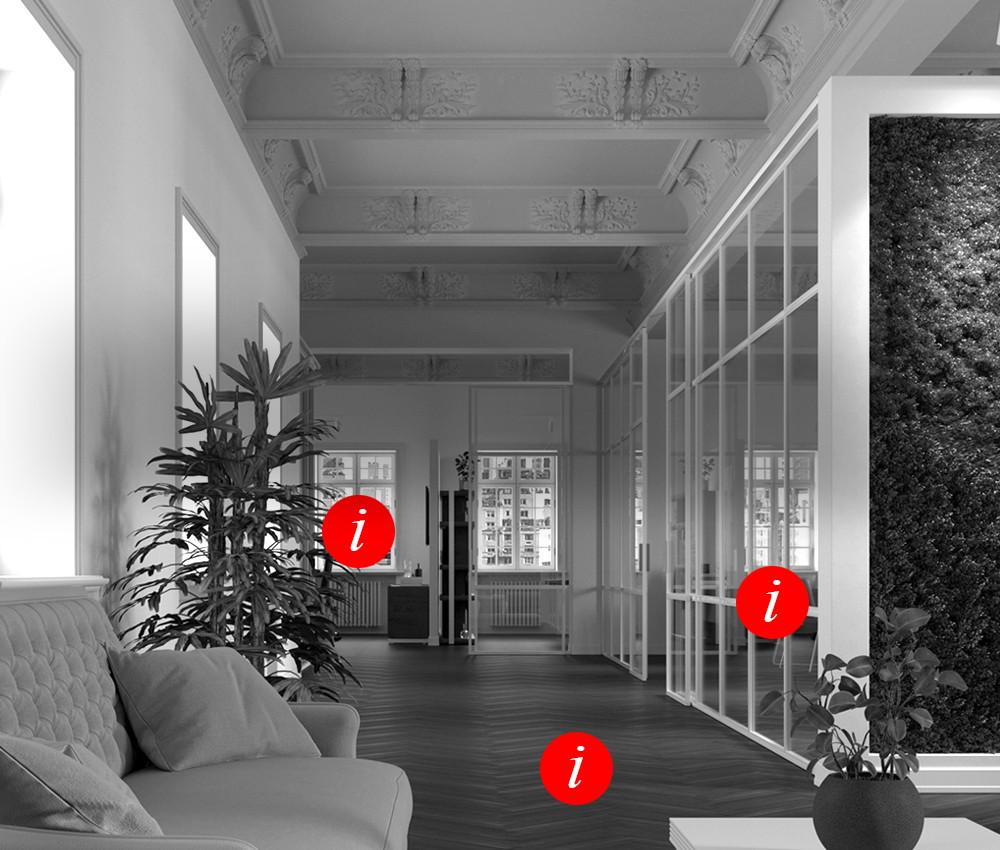 Place design e rendering - Interattività