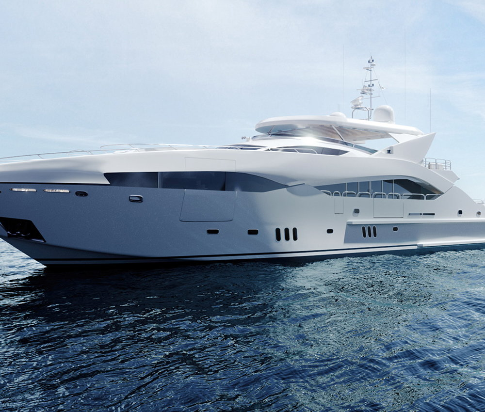 Place design e rendering - Nautica yacht design